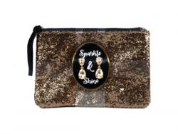Wholesale Sparkle & Shine Purse And Earrings Set In Assorted Colors