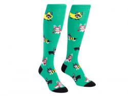 Wholesale One Pack Knee High Socks Costume Party Pattern