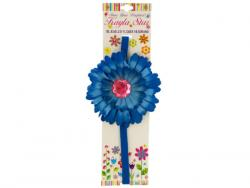 Wholesale Jeweled Flower Stretchy Headband