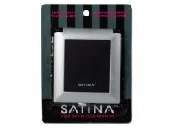 Wholesale High Definition Square Black Compact Dual Sided Mirror